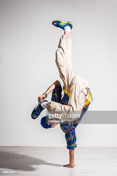 young man dancer - breakdancing stock photos and pictures