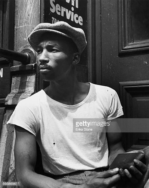 A young man in New York City circa 1950