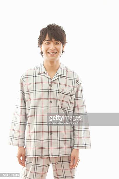 Young Man in Pajama