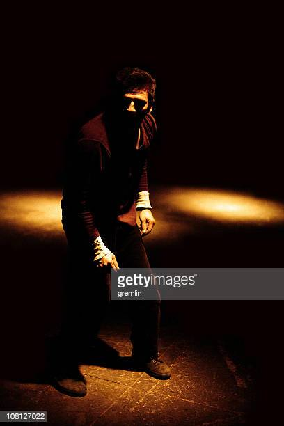 Young Man in Shadows