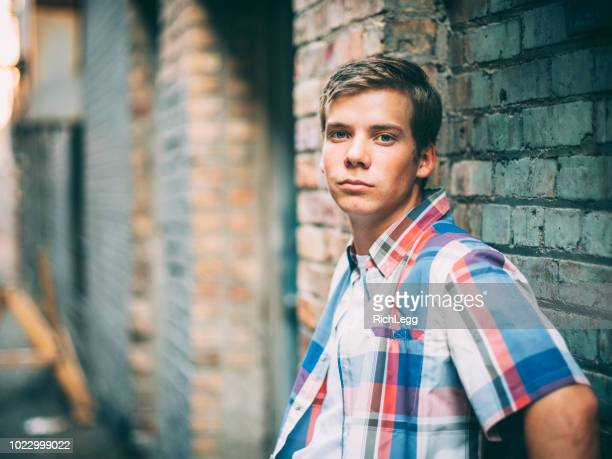 Young Man in Urban Area