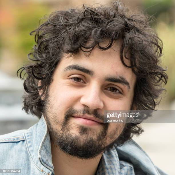 young man looking at the camera - spanish culture stock pictures, royalty-free photos & images