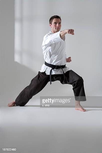 Young man martial artist