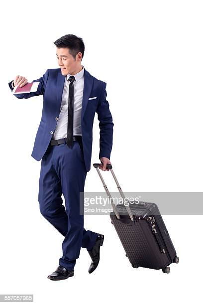 Young Man on a Business Travel