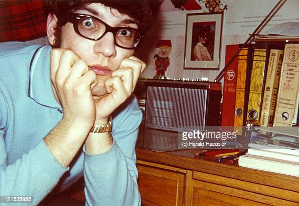 young man - horn rimmed glasses stock pictures, royalty-free photos & images