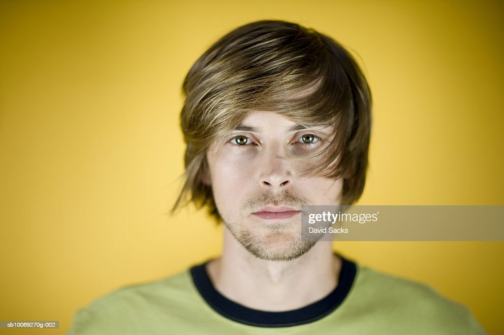 Young man, portrait, close-up : Stockfoto