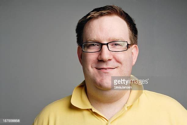 portrait de jeune homme - chubby photos et images de collection