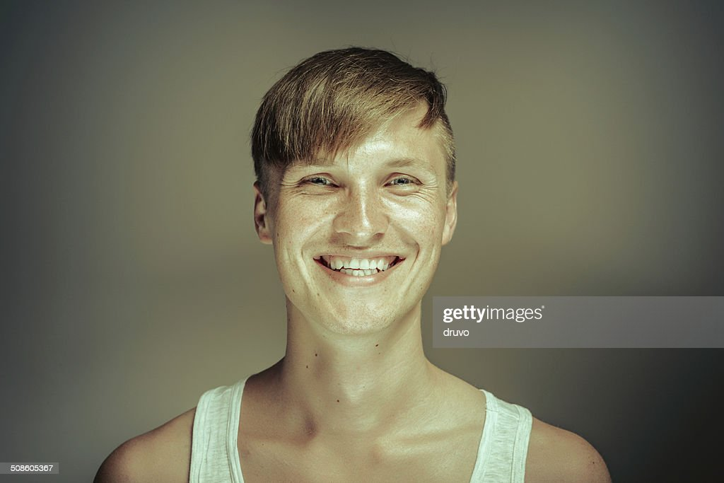 Young man portrait : Stock Photo