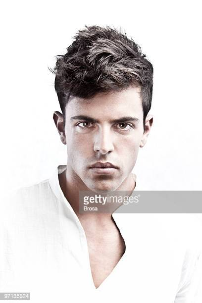 young man portrait - male model stock photos and pictures