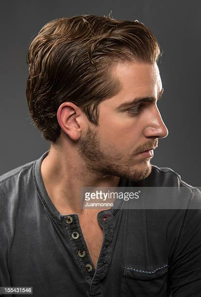 Young man profile (real people)