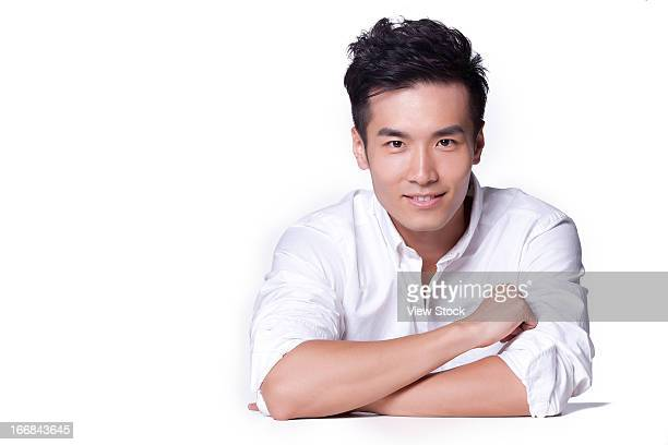 young man protrait - handsome chinese men stock pictures, royalty-free photos & images