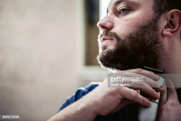 jovem de barba barba - barba por fazer - fotografias e filmes do acervo