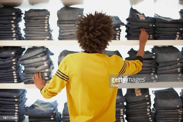 Young Man Shopping