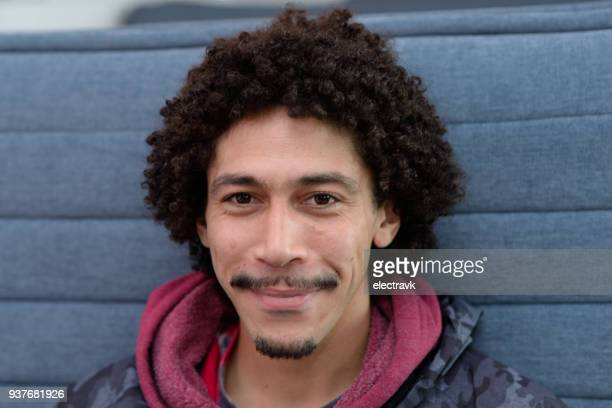young man smiling - goatee stock pictures, royalty-free photos & images