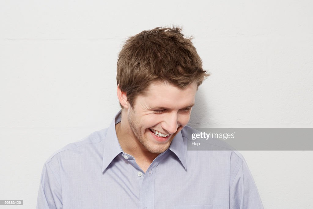 Young man smiling : Stock Photo
