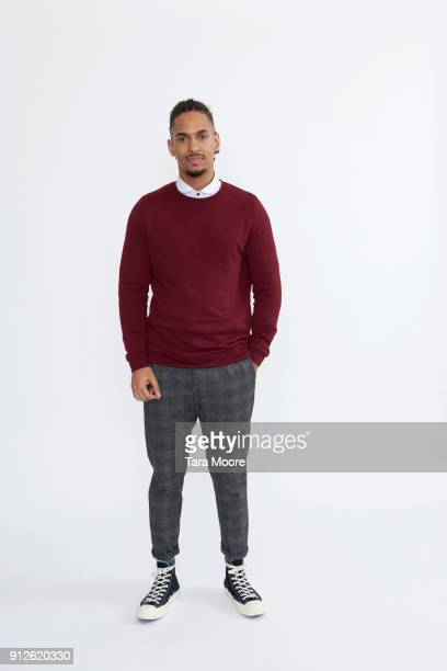 young man standing - sweater stock pictures, royalty-free photos & images