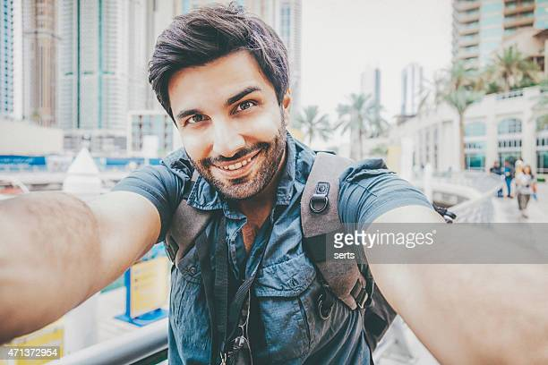 young man taking a selfie - self portrait stock pictures, royalty-free photos & images