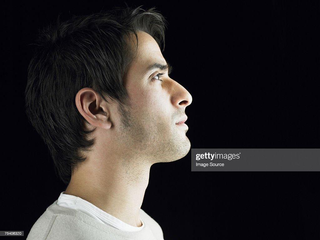 Young man thinking : Stock Photo