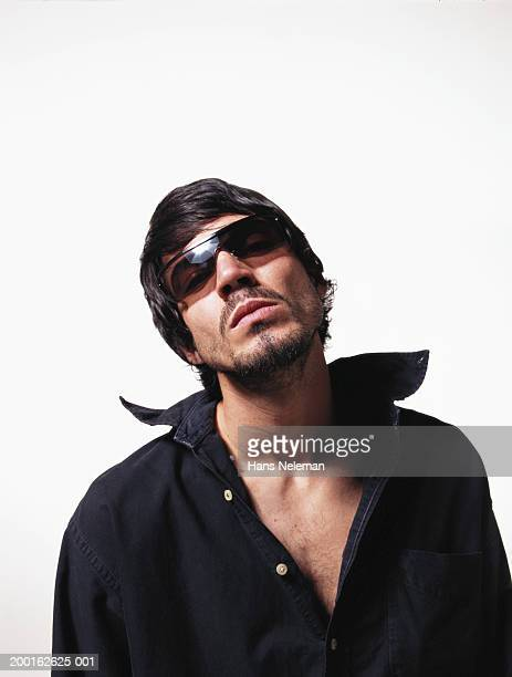 young man wearing sunglasses - idiots stock pictures, royalty-free photos & images