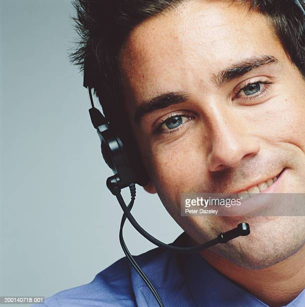 Black Hair Blue Eyes Men Stock Photos And Pictures
