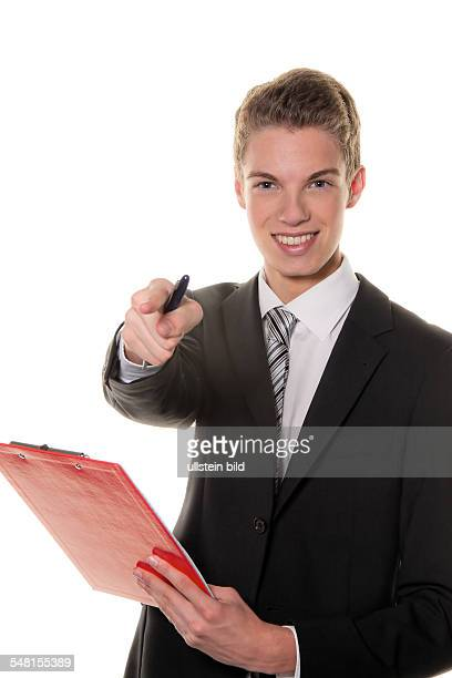 young man with clipboard 2010