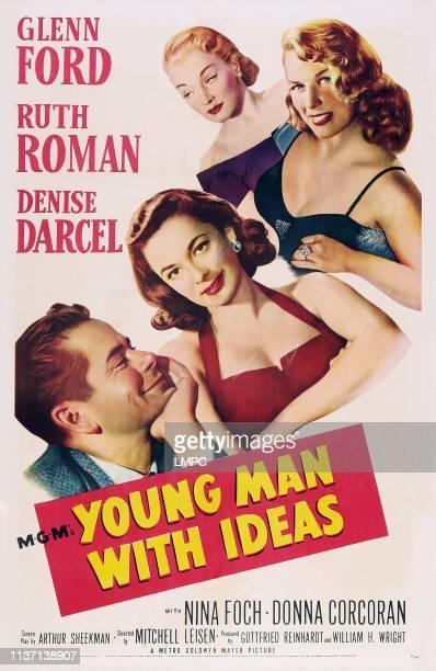 Glenn Ford Ruth Roman Nina Foch Denise Darcel 1952
