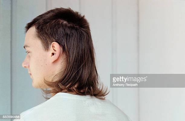 Young Man with Mullet