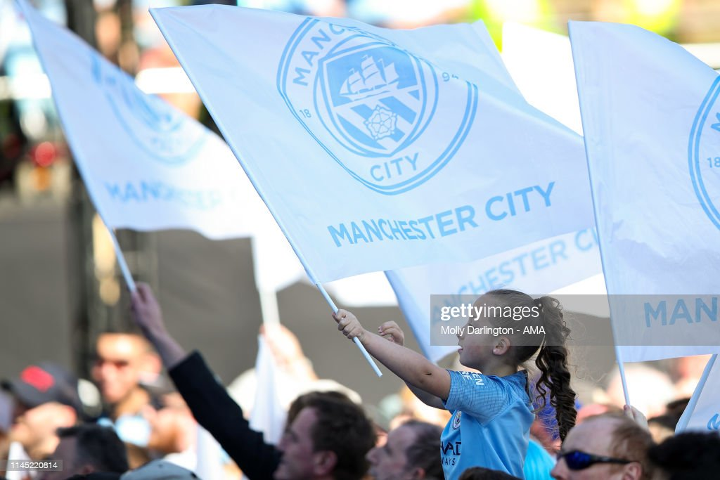 GBR: Manchester City Teams Celebration Parade