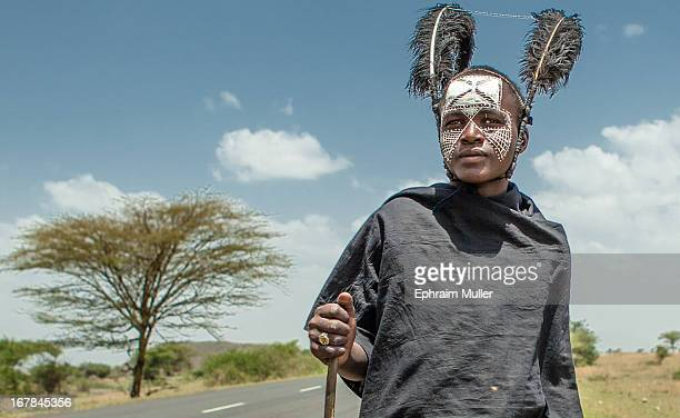 CONTENT] A young Massai shortly after his circumcision ritual The warriors spend most of their time now on walkabouts throughout Maasai lands beyond...