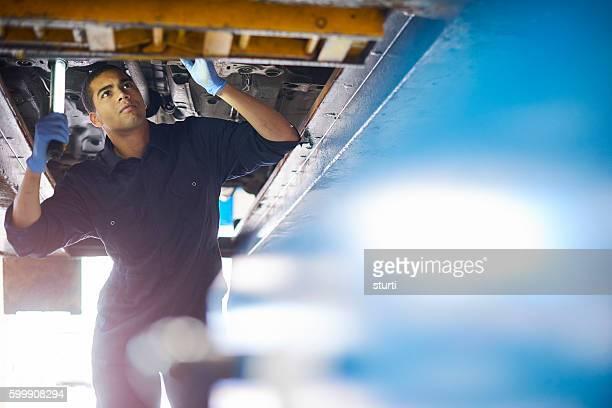 Junge Mechaniker