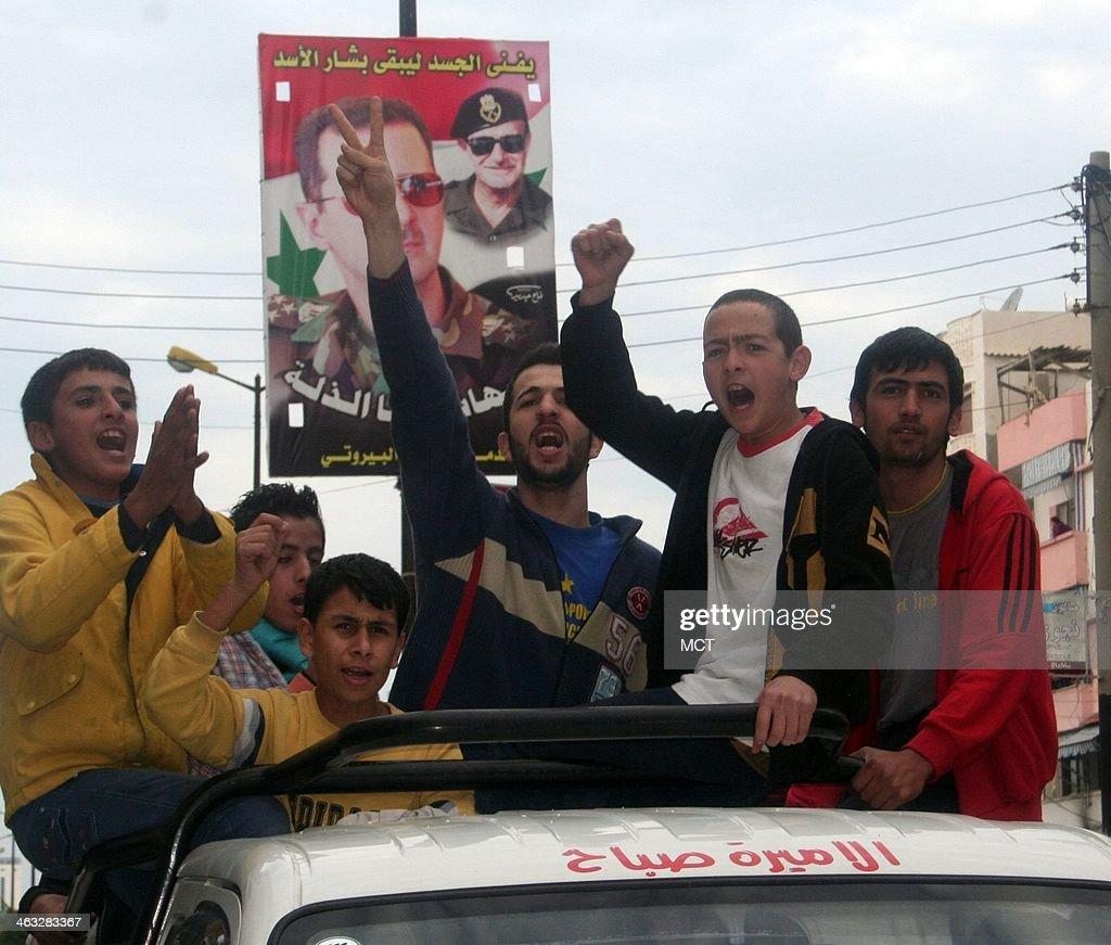 Syria : Nachrichtenfoto