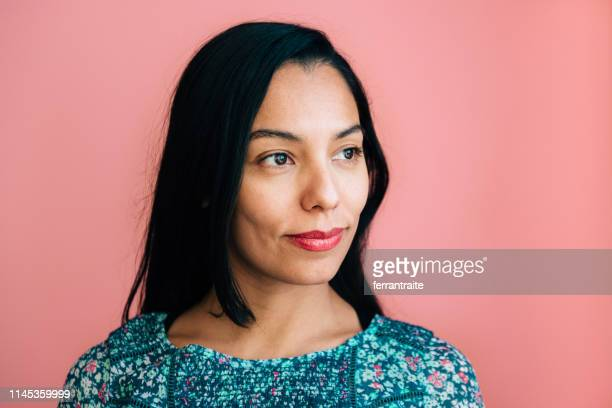 Young Mexican Woman Portrait