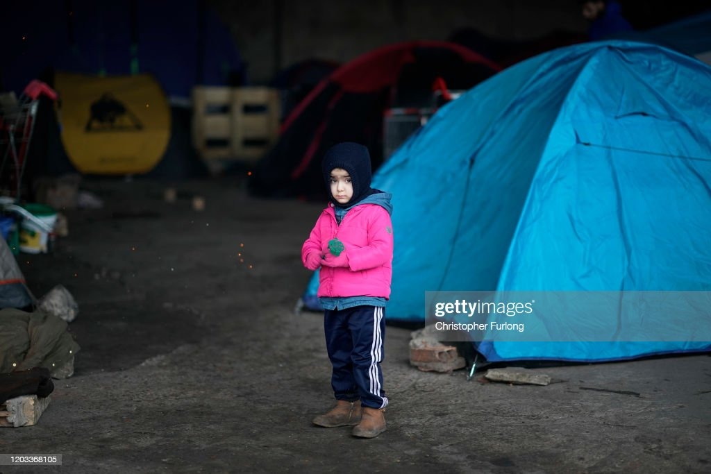 Activity At Calais As The UK Enters Brexit Transition Period : News Photo