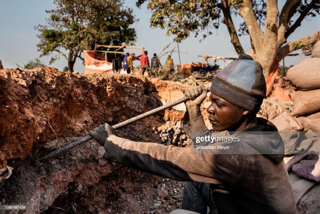 Cobalt Mining in Congo : News Photo