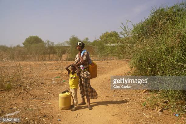 A young Mother and her child at the UN aid relief camp at Bandadero village near Moyale North Kenya Last week the Kenyan government declared the...