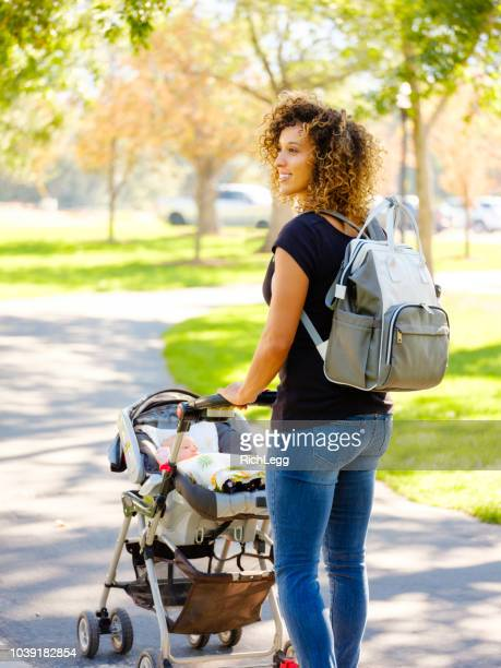 Young Mother in the Park