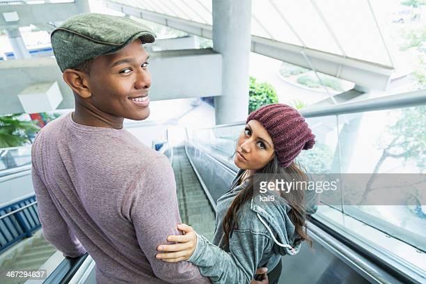 Young multi-ethnic couple
