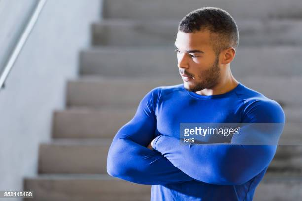 young, muscular, mixed race man - handsome native american men stock pictures, royalty-free photos & images