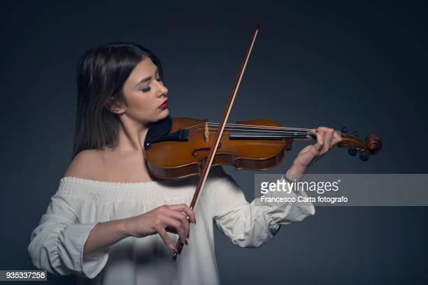 young musician - tempio pausania stock-fotos und bilder