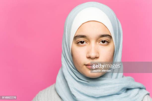 Young Muslim teenager portrait