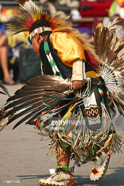 young native american dancer - sioux culture stock pictures, royalty-free photos & images