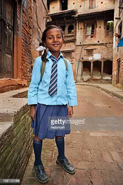 ネパールの若い女性