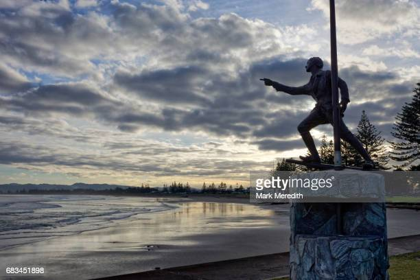 Young Nick statue in Gisborne
