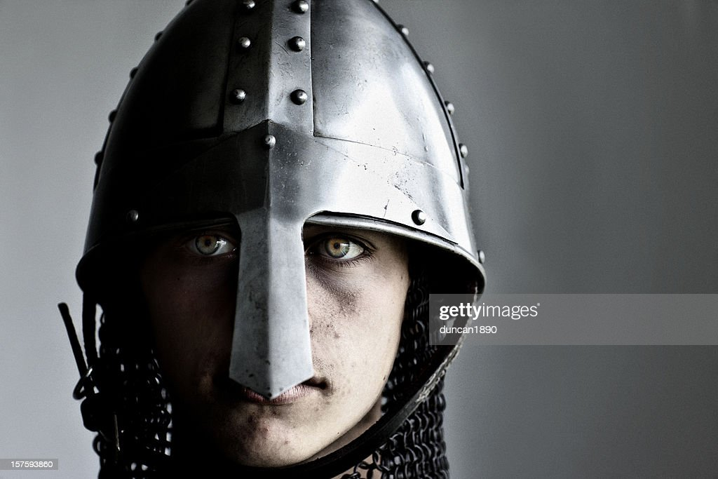 Young Norman Knight : Stock Photo