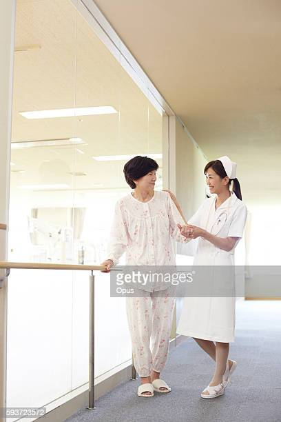 Young Nurse and Patient