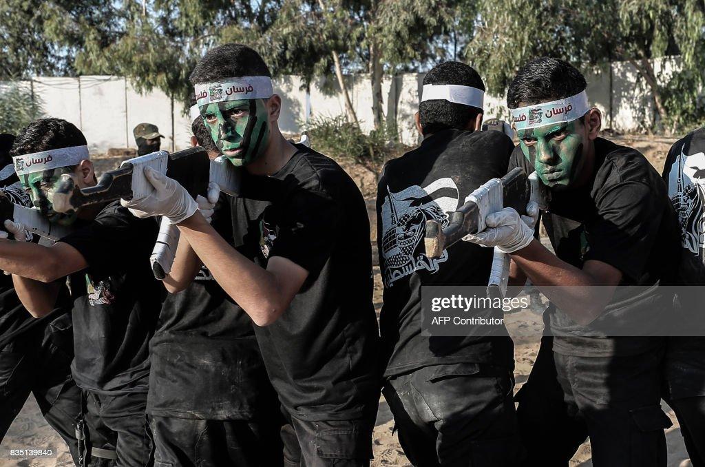 PALESTINIAN-ISRAEL-CONFLICT-GAZA-HAMAS : News Photo
