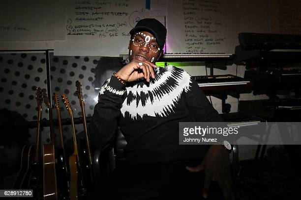 Young Paris attends his 'African Vogue' Album Listening Party on December 9 2016 in the Brooklyn borough of New York City