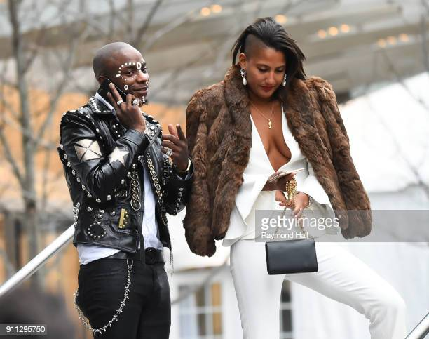 Young Paris attends Roc Nation THE BRUNCH on January 27 2018 in New York City