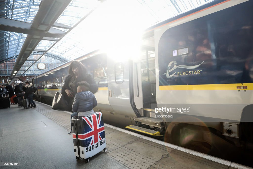 Operations Of Eurostar International Ltd. At St. Pancras Station