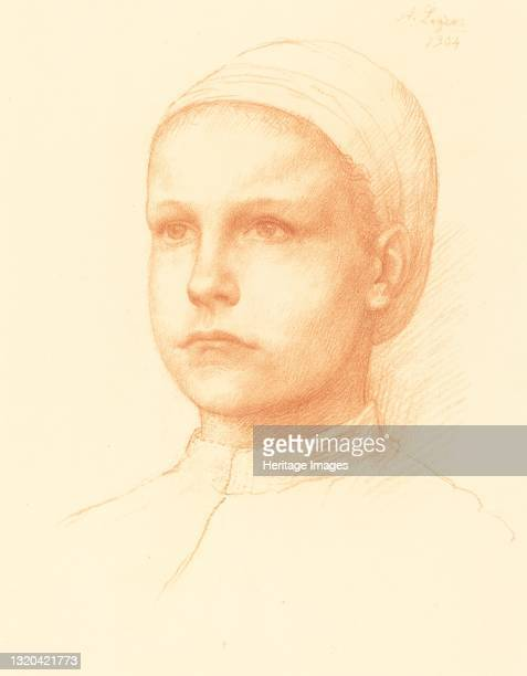 Young Peasant , 1904. Artist Alphonse Legros.